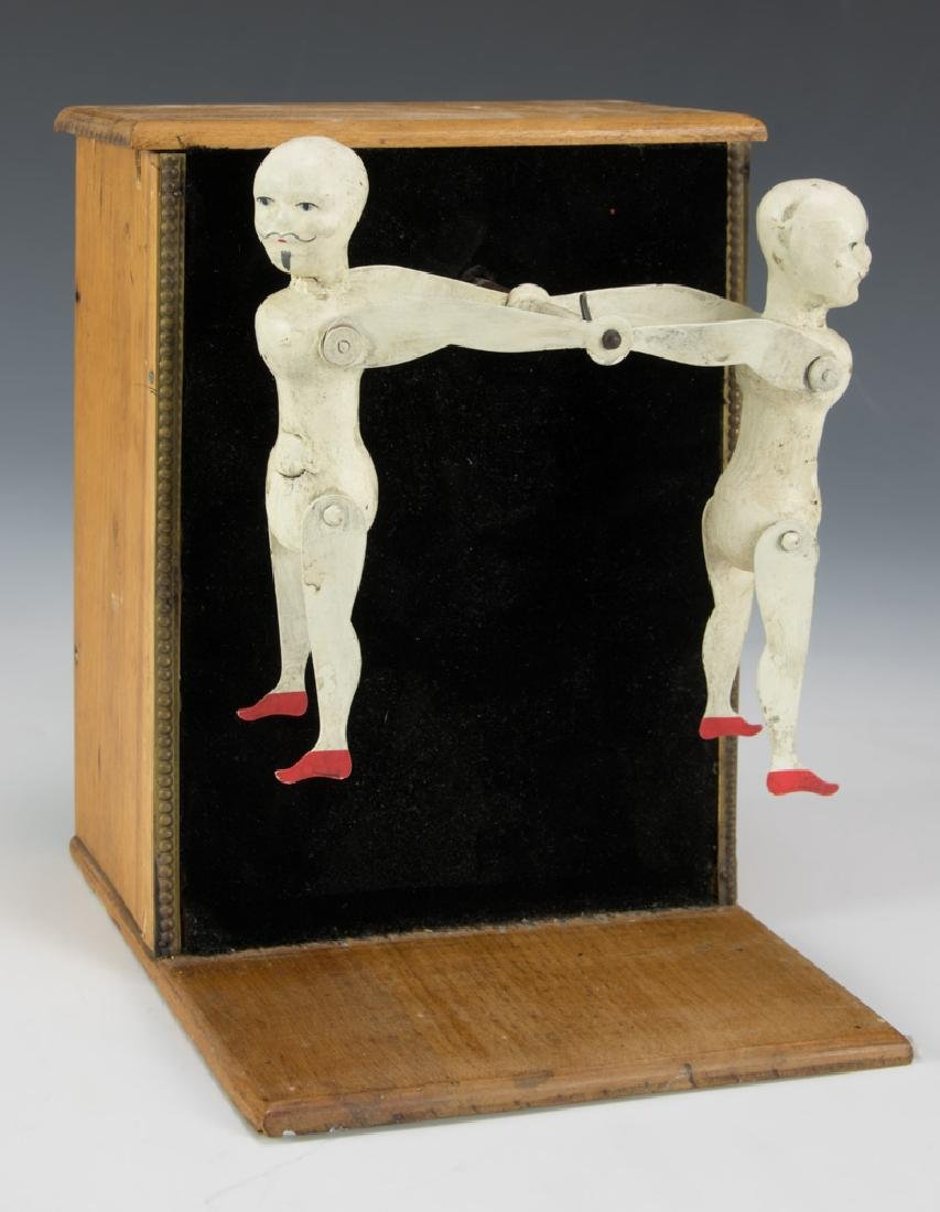 A Clockwork Ives, Hotchkiss Mechanical Acrobat Toy