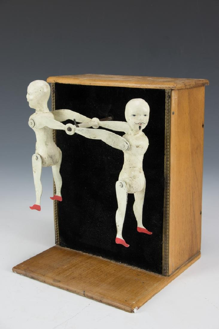 A Clockwork Ives, Hotchkiss Mechanical Acrobat Toy - 2