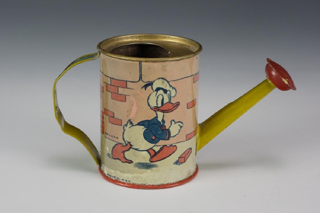 Donald Duck Watering Can by Ohio Art 1938