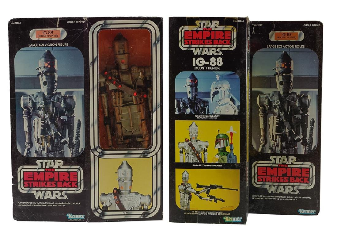 "Kenner Star Wars ESB 15"" IG-88 Figure"
