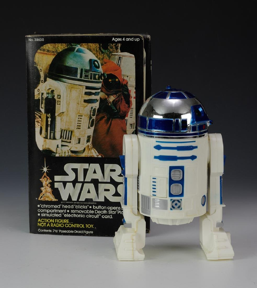 "Kenner Star Wars 7 1/2"" R2-D2 Figure"