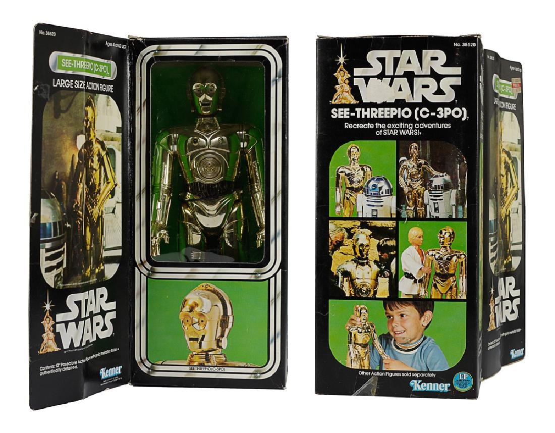 "Kenner Star Wars 12"" C-3PO Figure"