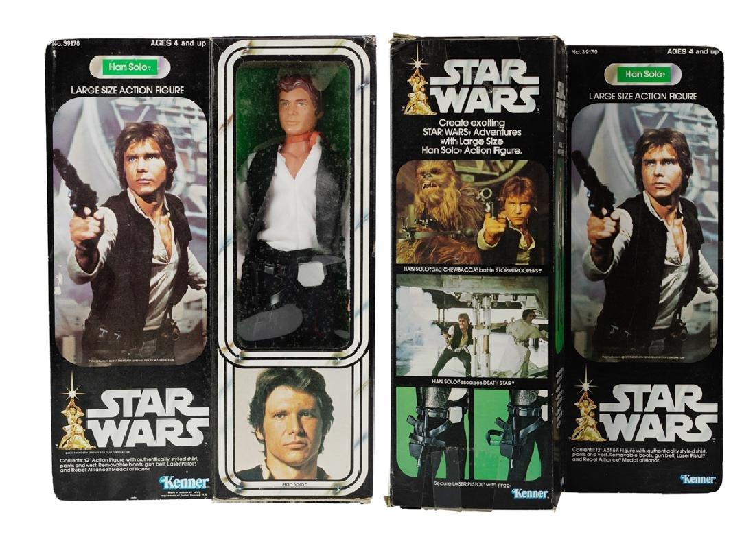 """Kenner Star Wars 12"""" Han Solo Figure"""