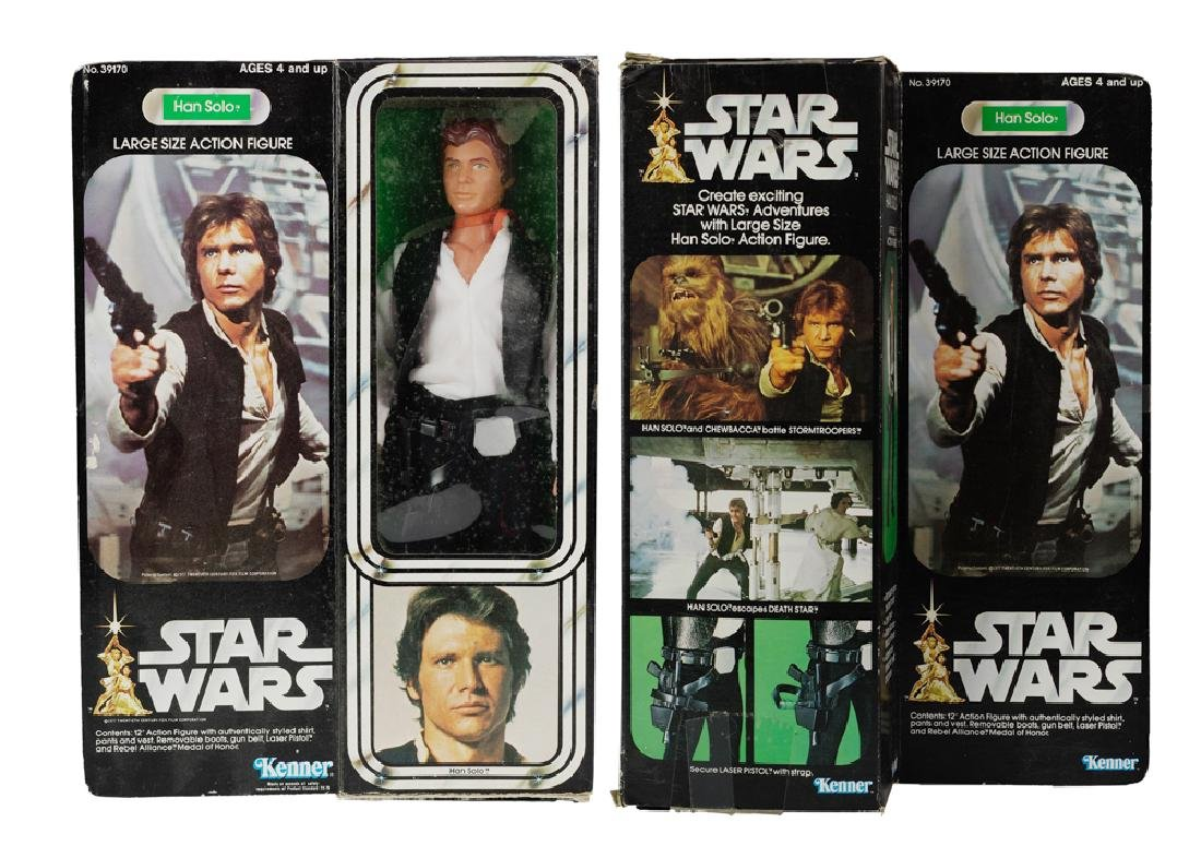 "Kenner Star Wars 12"" Han Solo Figure"