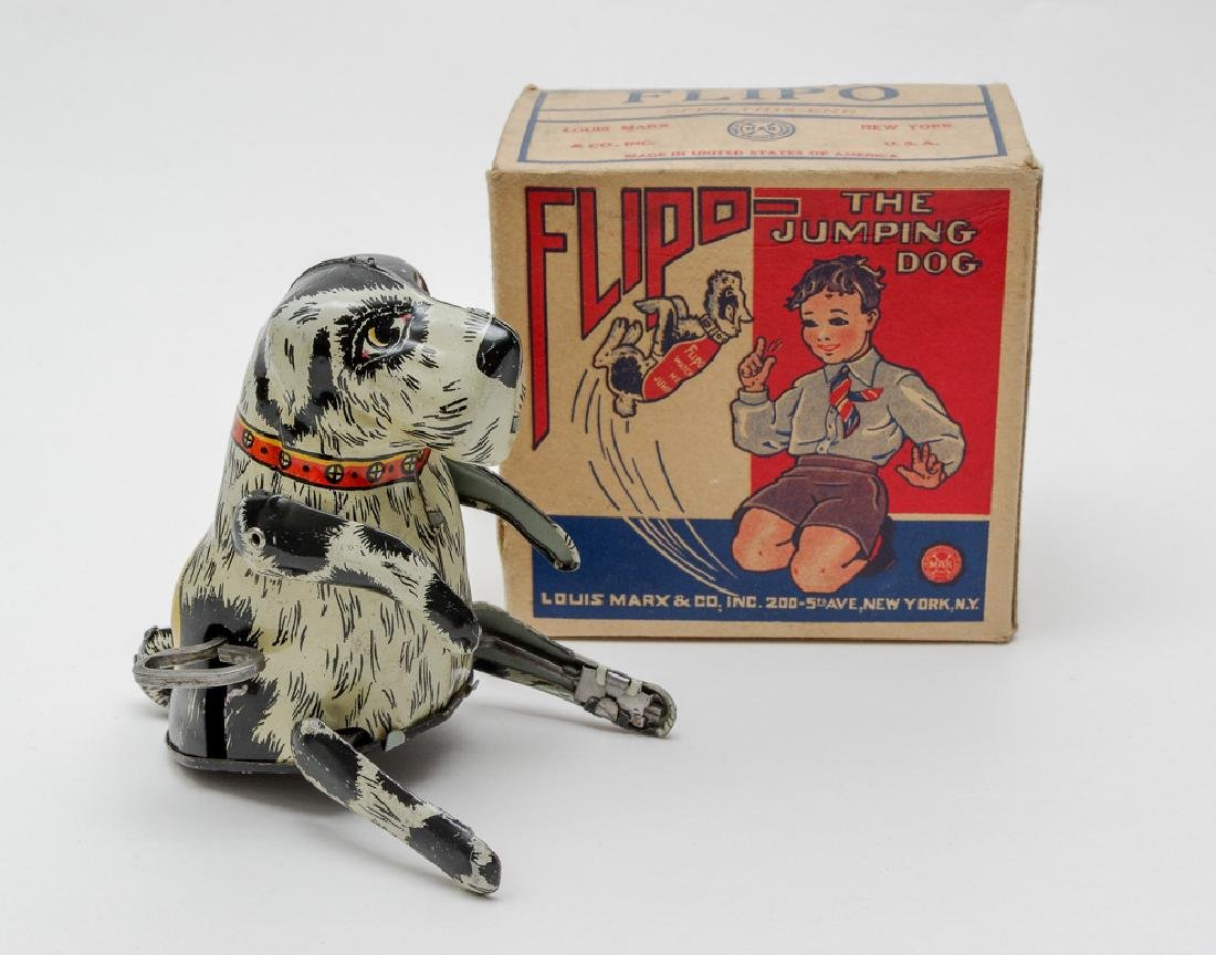 Boxed Flipo the Dog by Marx