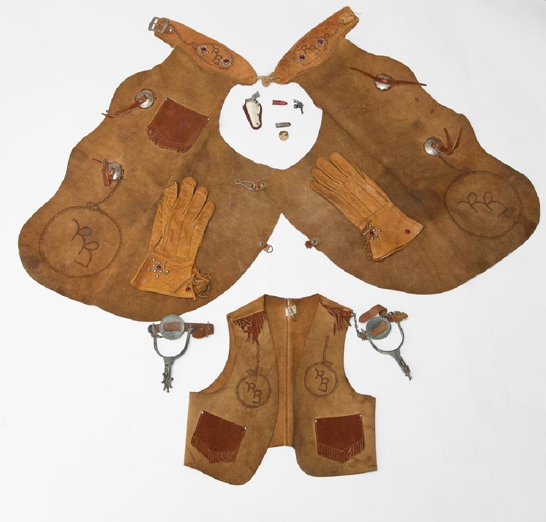 Roy Rogers Leather Cowboy Outfit