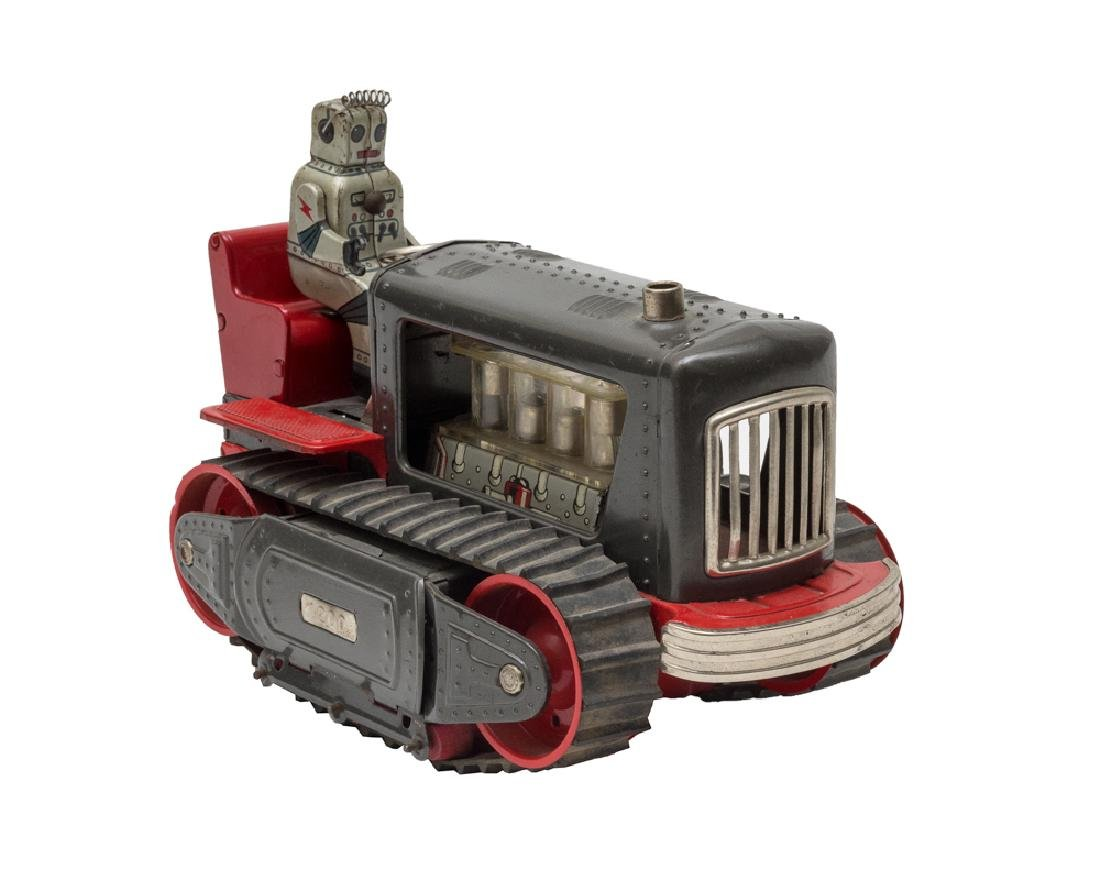 Battery-Operated Robot Tractor by Nomura