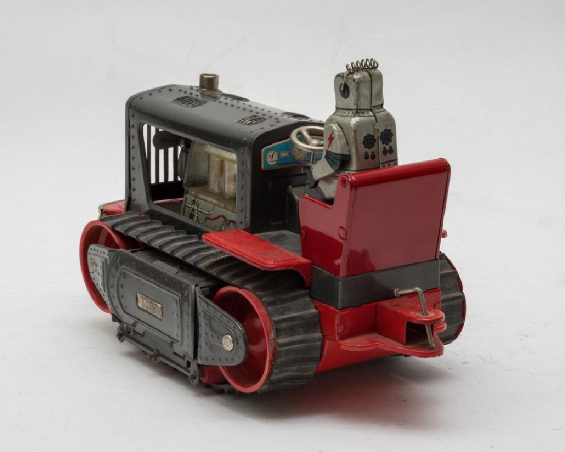 Battery-Operated Robot Tractor by Nomura - 3
