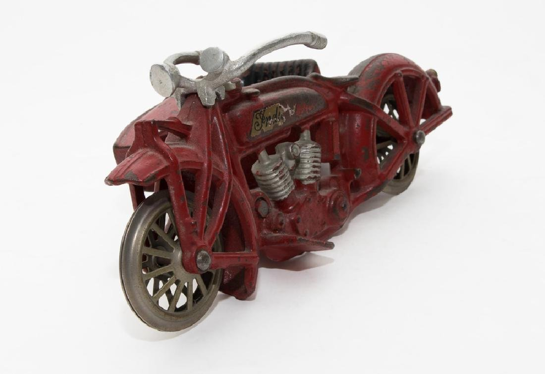Hubley Cast-Iron Indian Motorcycle
