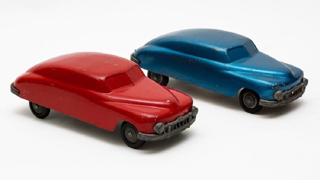 Pair of J&S Products Die Cast Cars
