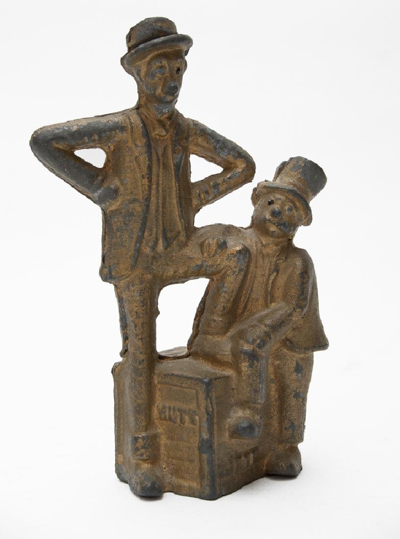 Cast Iron Mutt & Jeff Still Bank