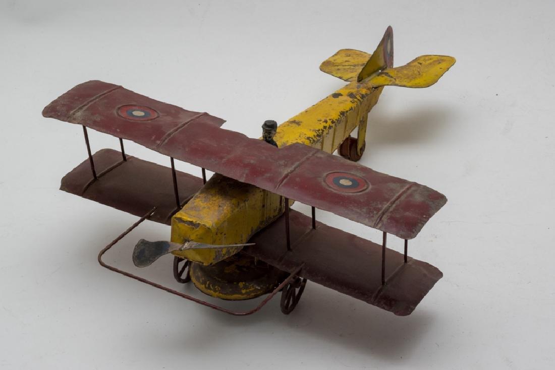 Clockwork Biplane by Kingsbury - 2