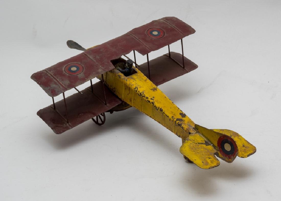 Clockwork Biplane by Kingsbury - 3