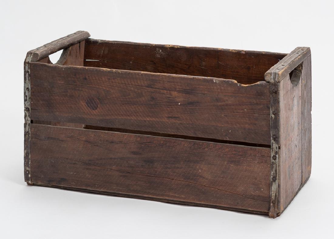 Early Wood Box, Marked Al Jackson, Nashville TN