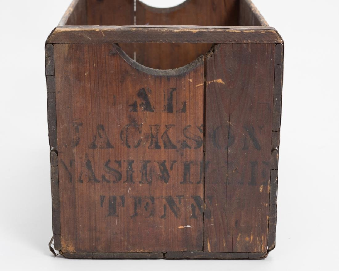 Early Wood Box, Marked Al Jackson, Nashville TN - 2
