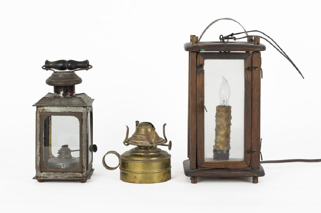 Three Antique Lanterns
