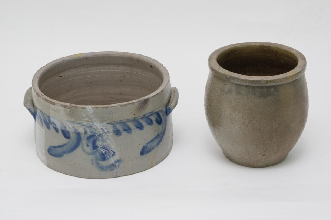 Pair of Salt Glaze Crocks - 2