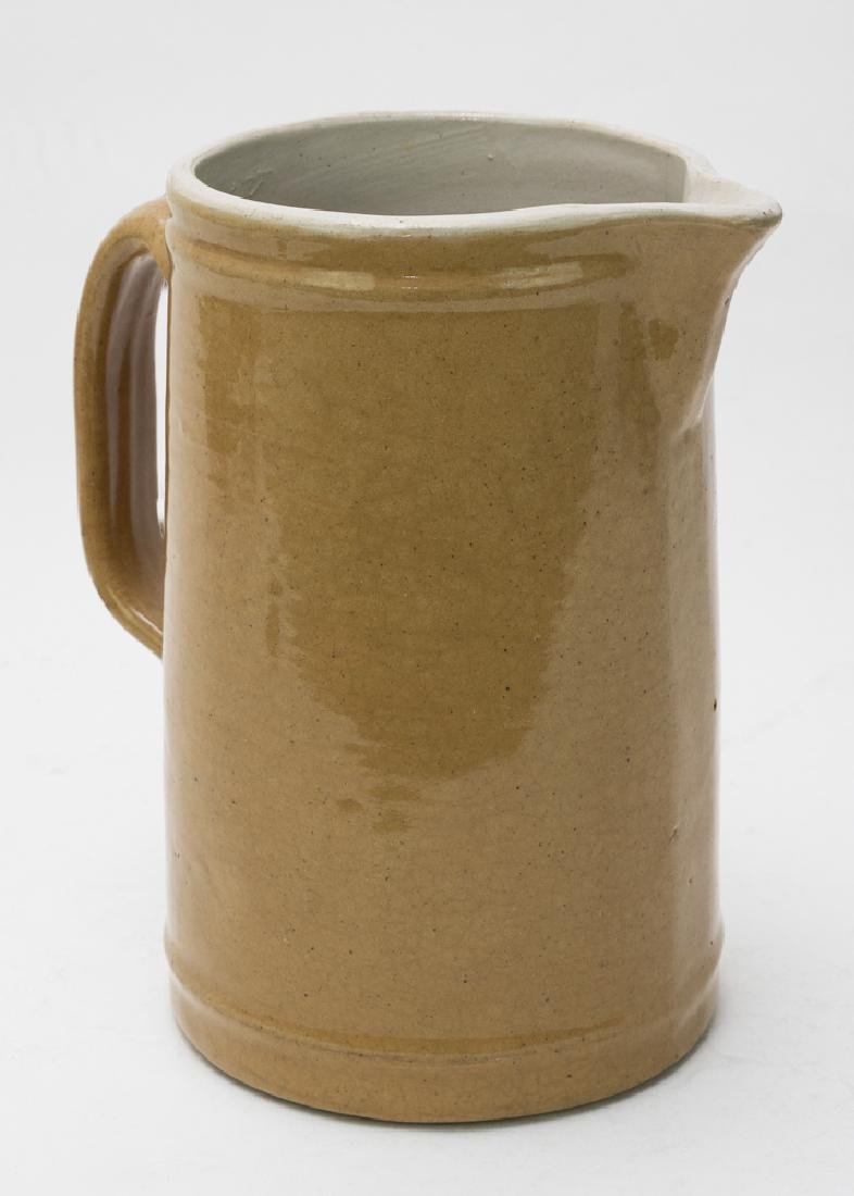 Ceramic Yellow Ware Pitcher