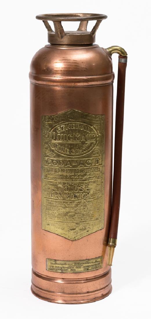 Copper Quick Aid Fire Extinguisher