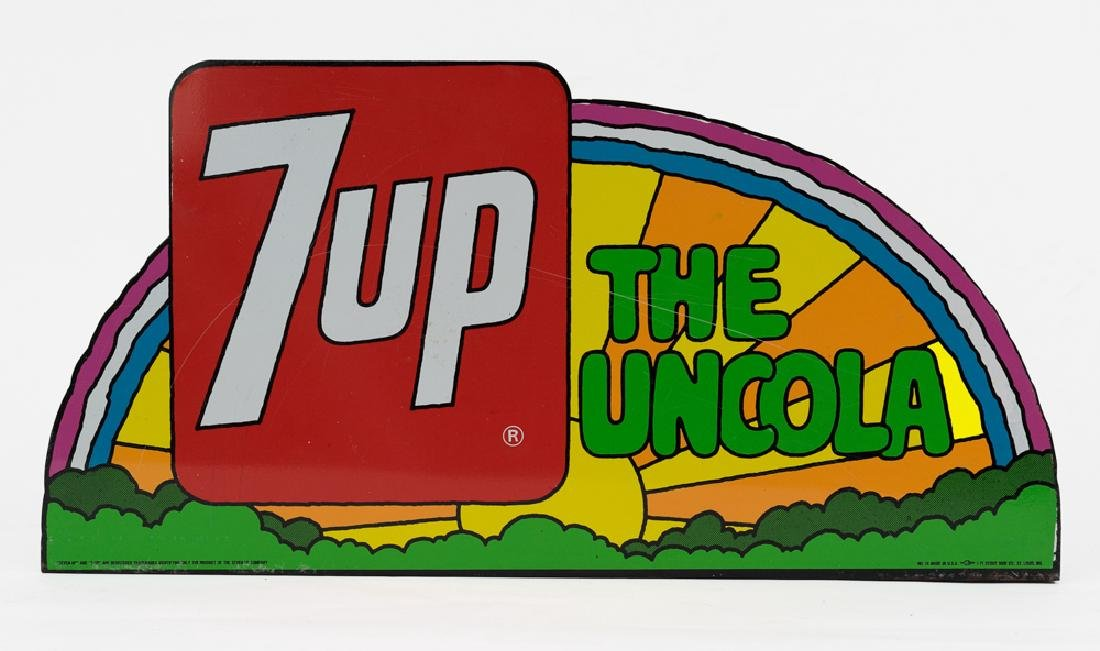 7-Up 'The UnCola' Sign by Peter Max