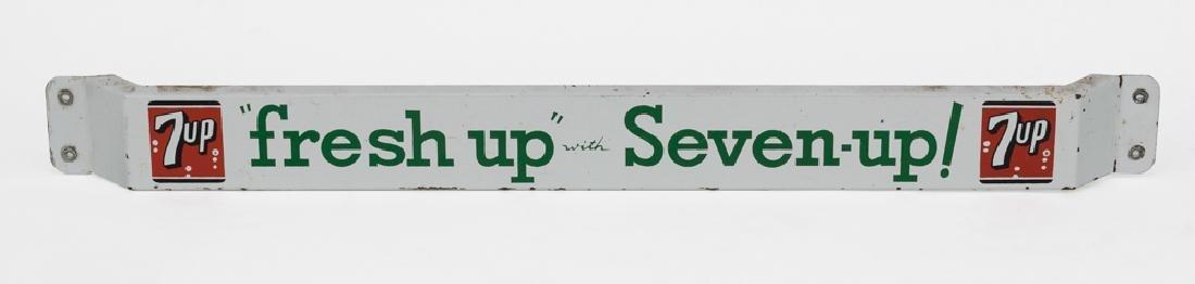 """7-Up Door Push """"Freshen Up w/ 7Up"""""""