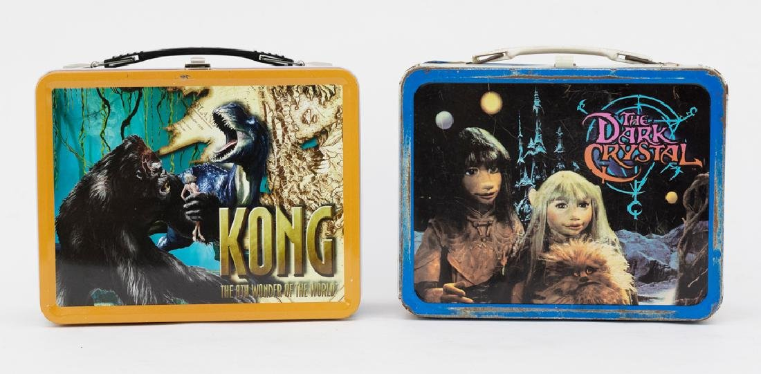 Kong + Dark Crystal Lunch Boxes (2 Boxes)