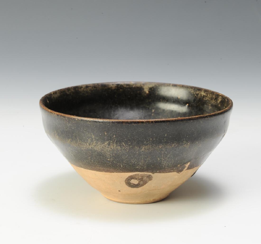 Chinese Black Glaze Tea Bowl, Song Dynasty