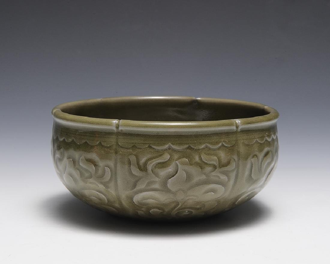 Chinese Yaozhou Ware Brush Washer, Song Dynasty