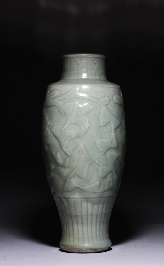 Chinese Longquan Vase, Ming Dynasty - 2