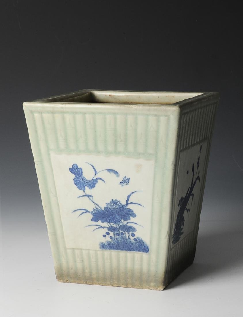 Chinese Celadon Glazed Planter, 19th Century