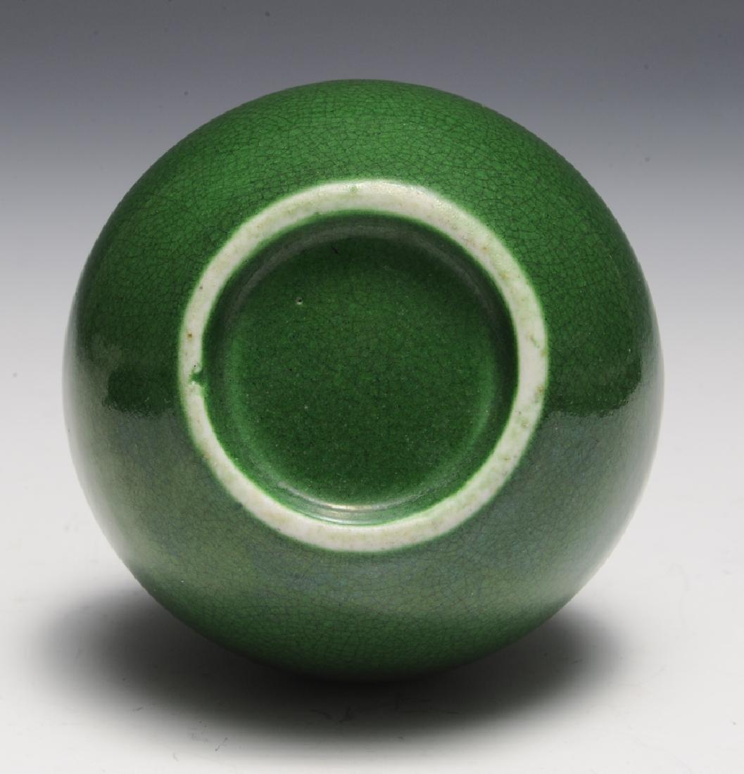 Chinese Green Glaze Vase, 19th Century - 5