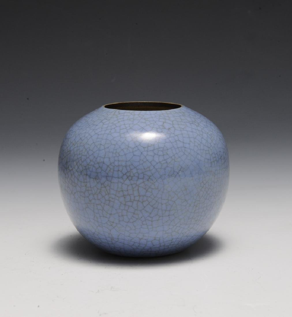 Chinese Ge Glaze Water Coupe, 18th Century - 2