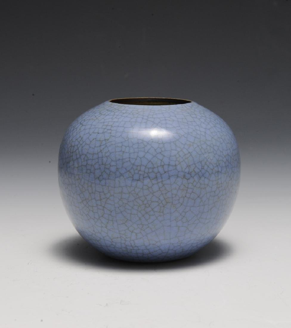 Chinese Ge Glaze Water Coupe, 18th Century - 3