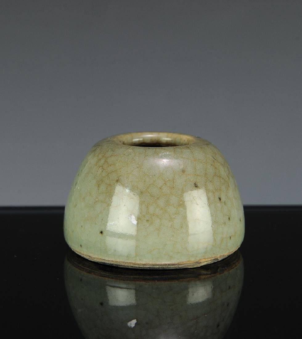 Chinese Green Ge Glazed Water Coupe, 18th C - 2