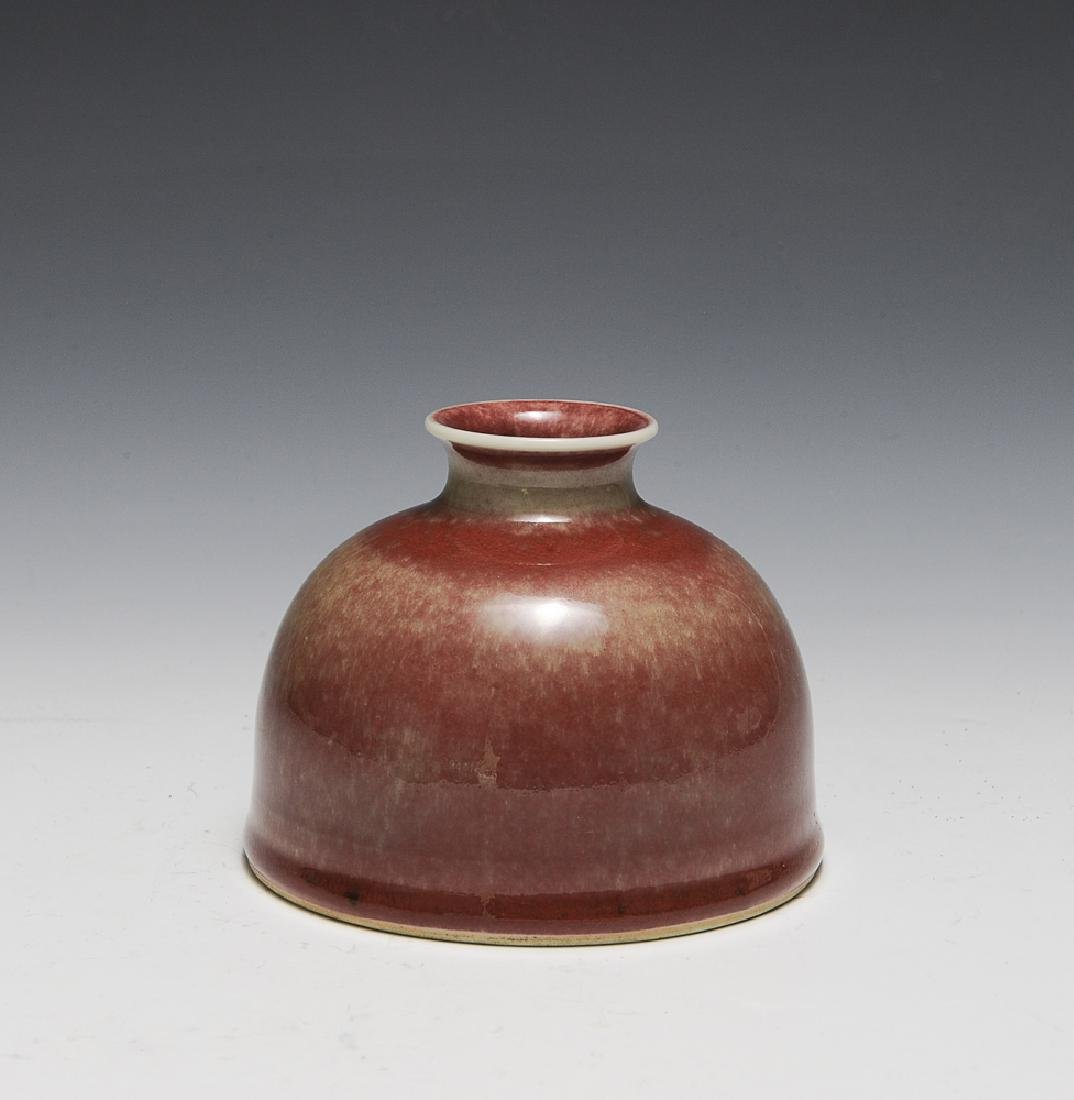 Chinese Peach Bloom Beehive Water Pot