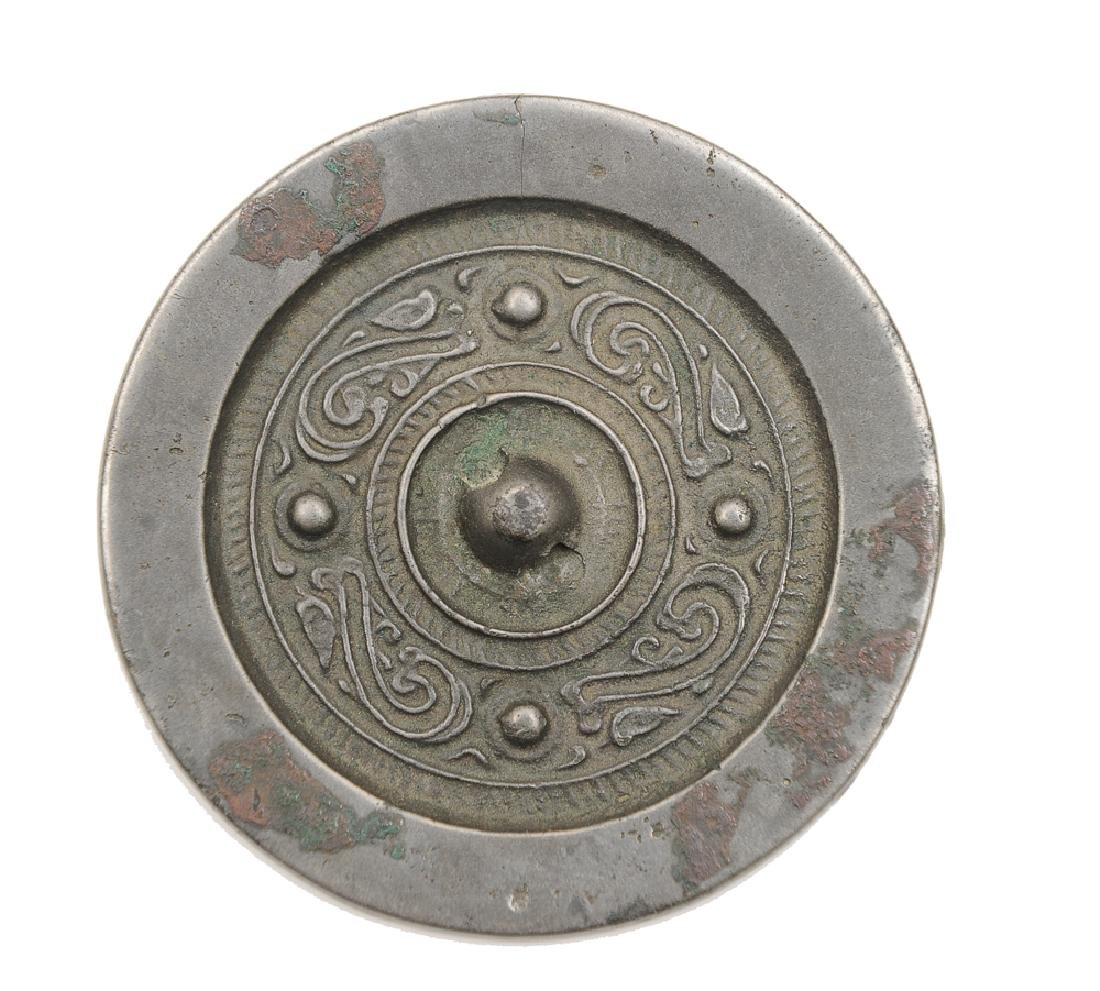 Chinese Bronze Mirror, Tang Dynasty