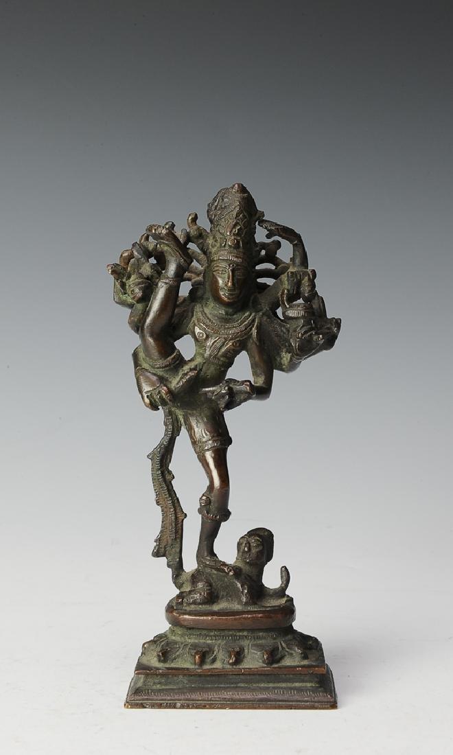 Bronze Dancing Kali Figurine