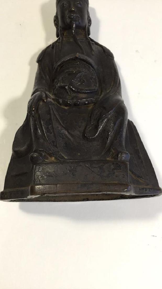 Chinese Daoist Bronze Figure, Ming Dynasty - 4
