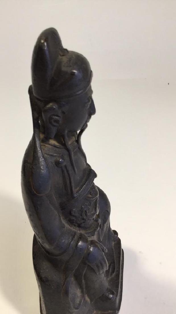 Chinese Daoist Bronze Figure, Ming Dynasty - 6