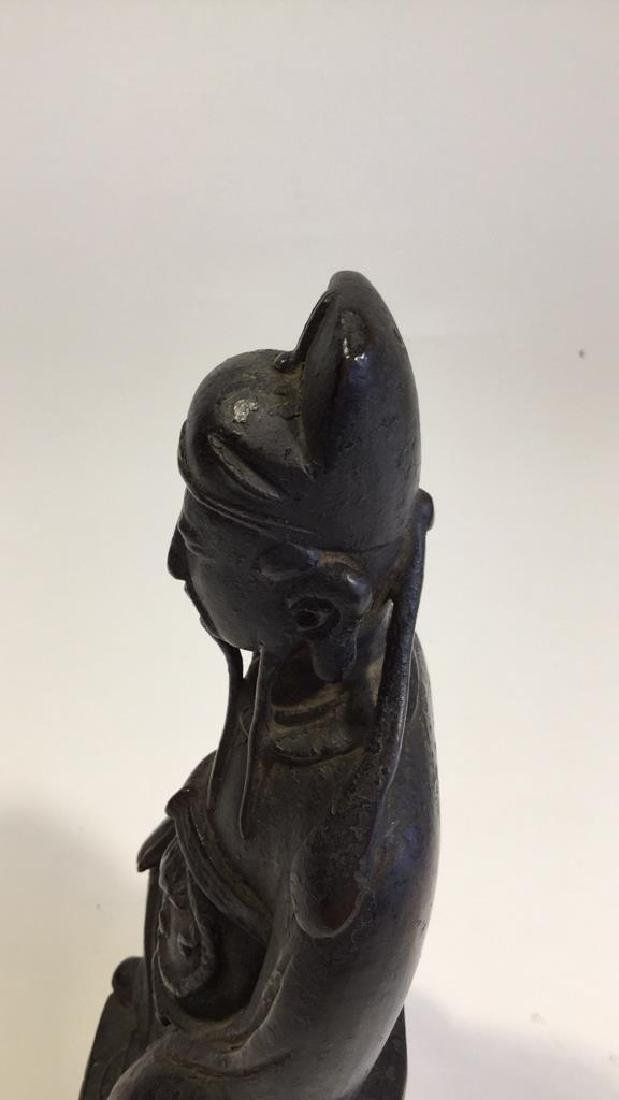 Chinese Daoist Bronze Figure, Ming Dynasty - 9