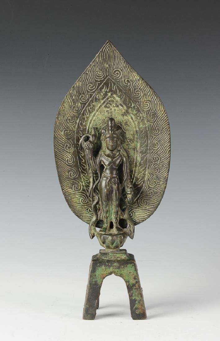 Bronze Buddha, Attributed to Northern Wei Dynasty