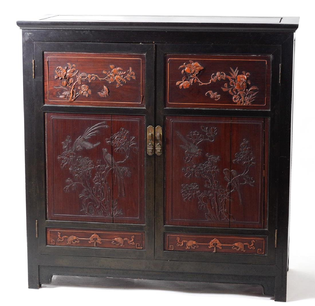 Chinese Ningbo Style Cabinet, 19th - 20th C