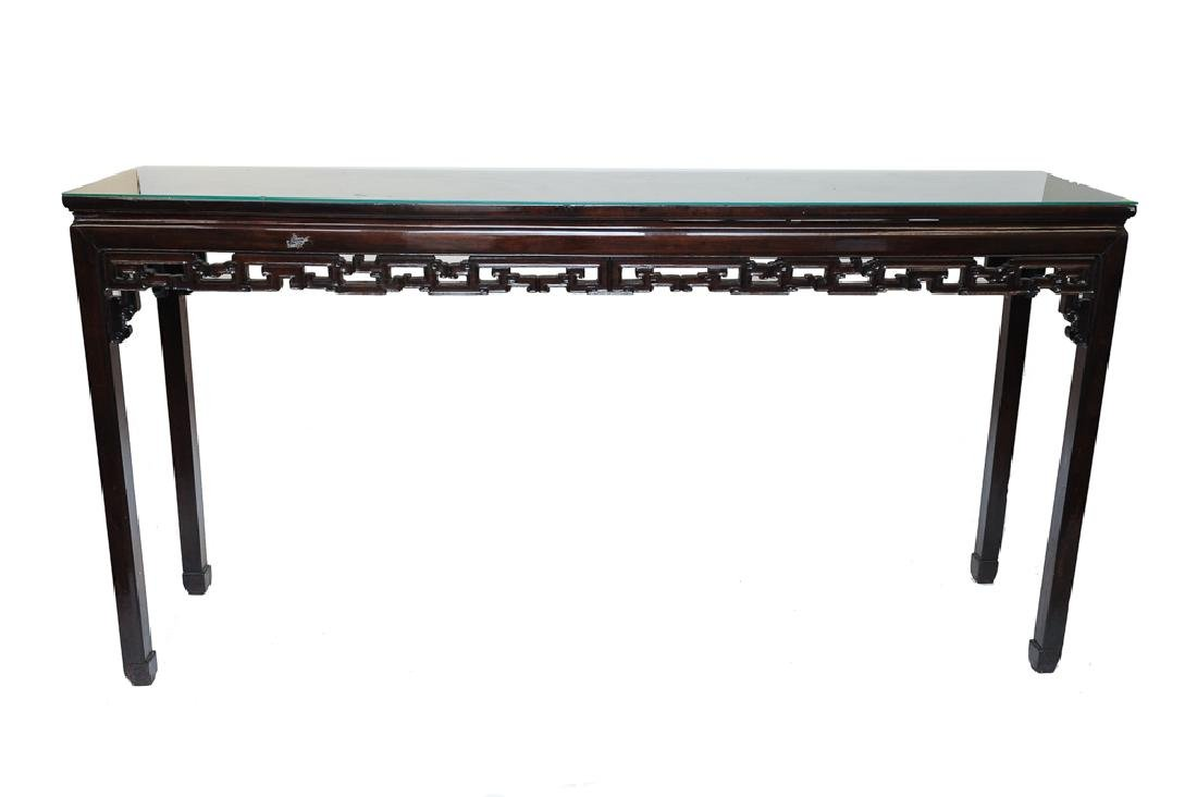 Long Chinese Table, 19th Century