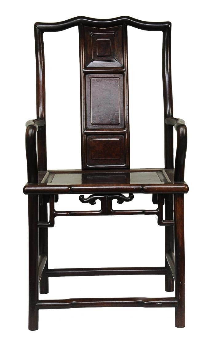 Rosewood Chair, Qing Dynasty