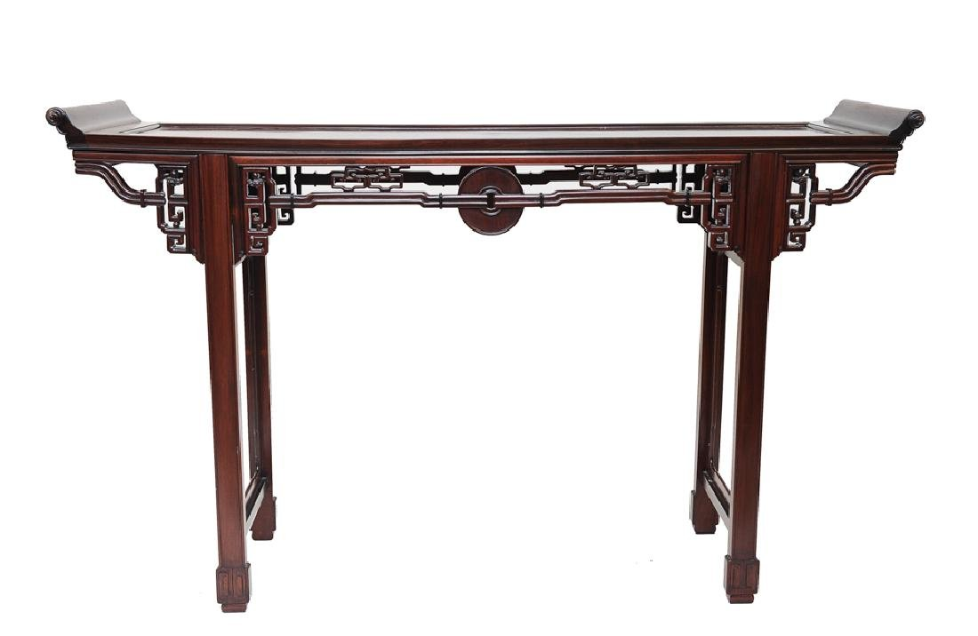Small Winged Altar Table, Late 19th Century