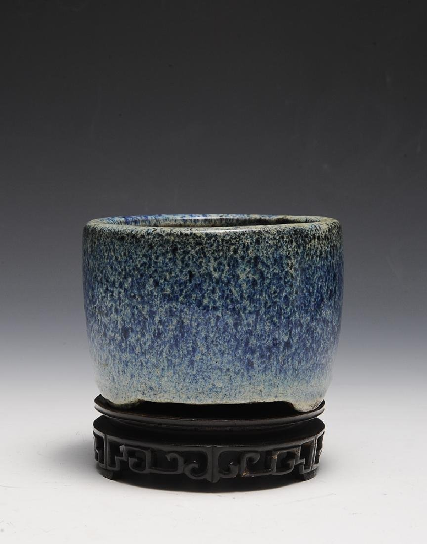 Chinese Shiwan Censer w/ Stand, Ming Dynasty