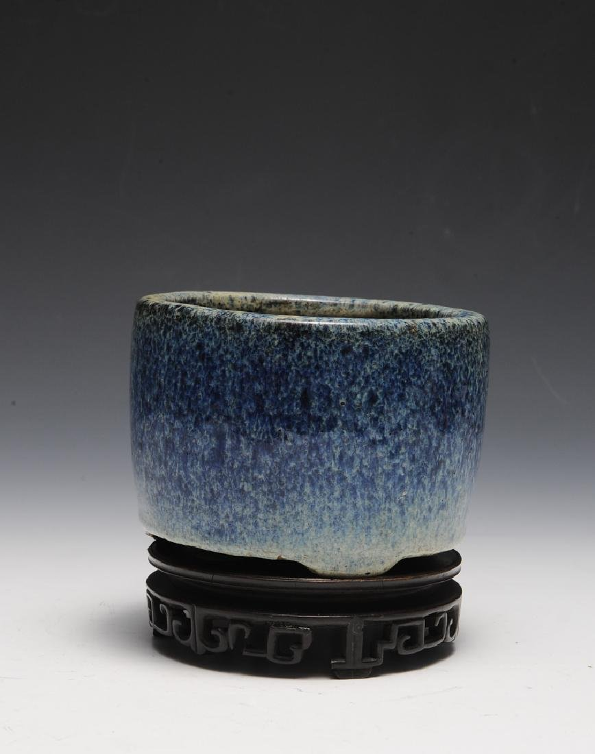 Chinese Shiwan Censer w/ Stand, Ming Dynasty - 3