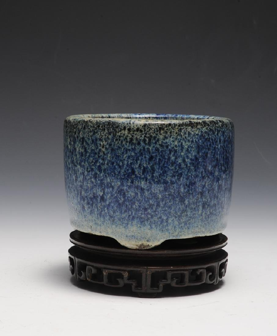 Chinese Shiwan Censer w/ Stand, Ming Dynasty - 4