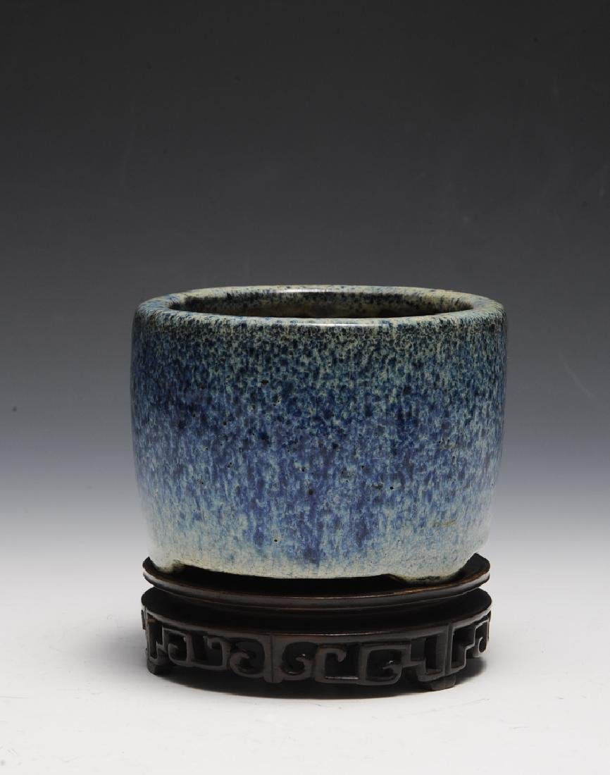 Chinese Shiwan Censer w/ Stand, Ming Dynasty - 8