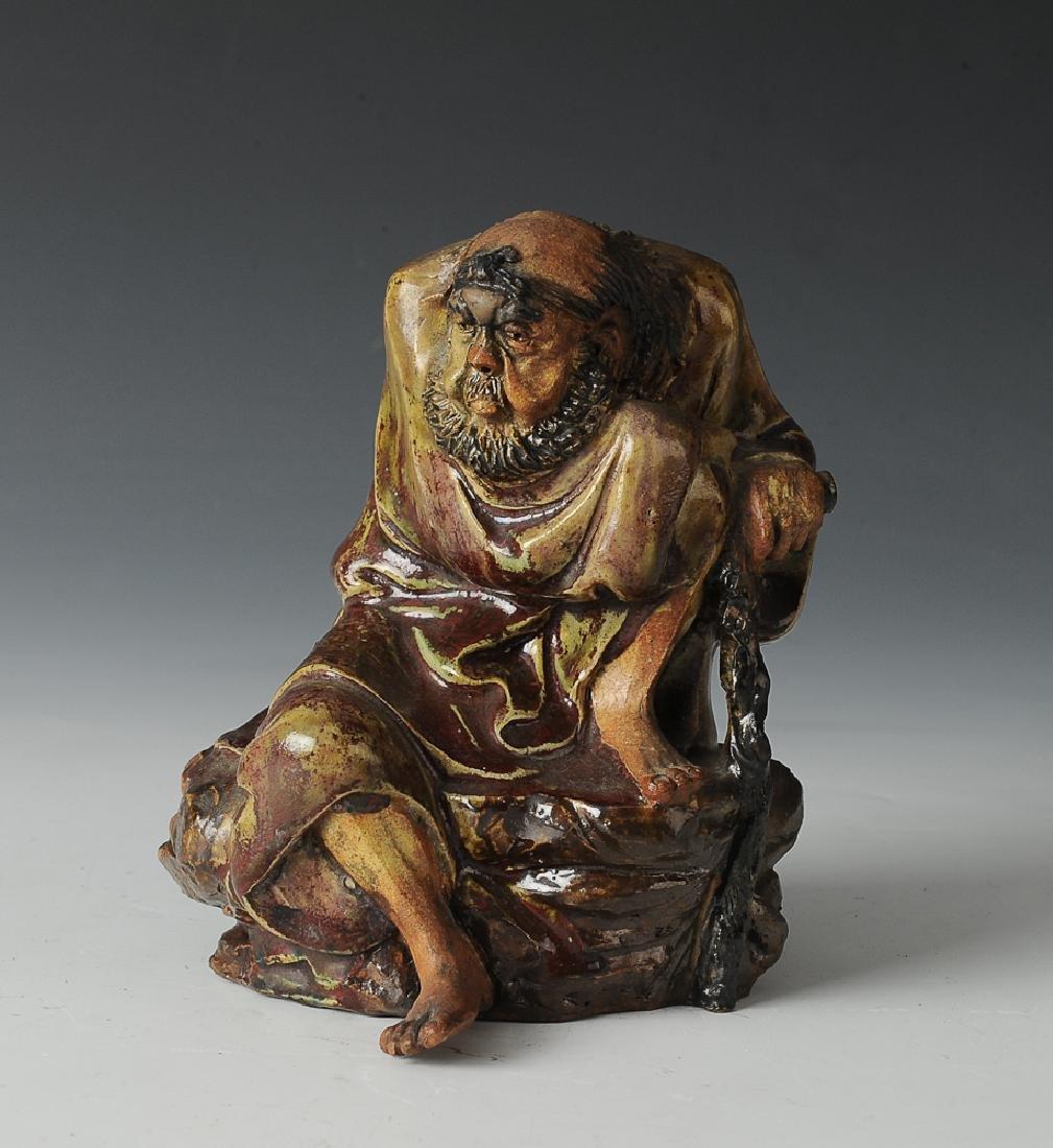Shiwan Statue of Tieguai Li, 19th - 20th Century